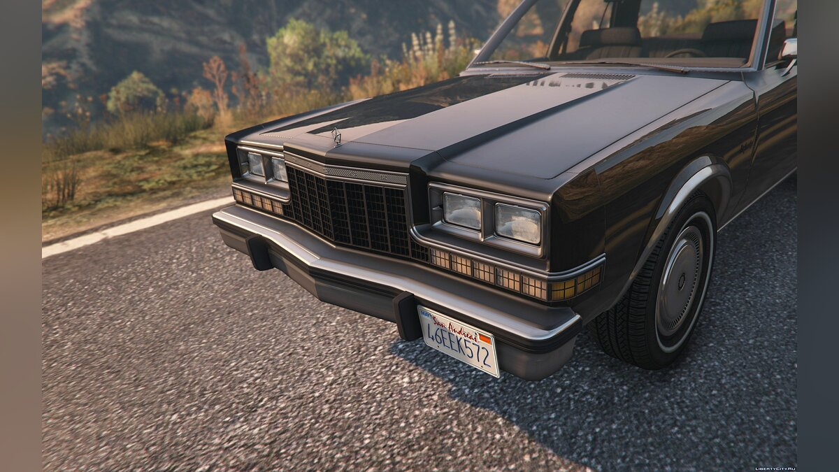 Машина Dodge 1983 Dodge Diplomat [Replace] 1.0 для GTA 5