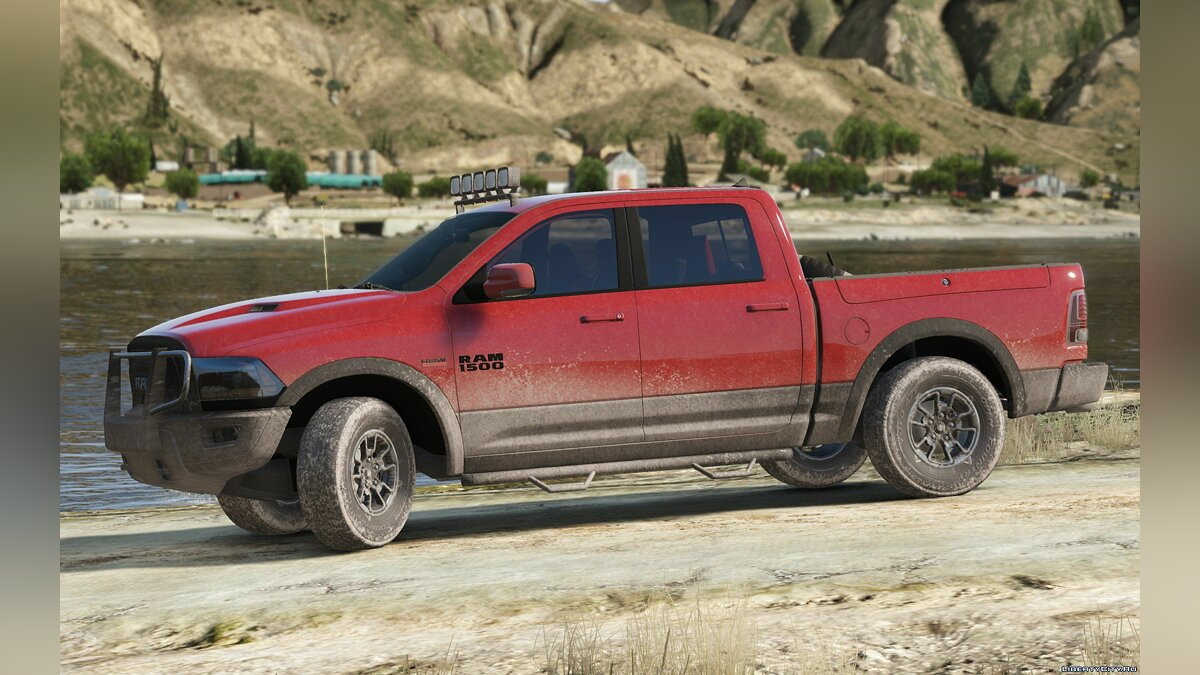 2016 Dodge Ram Rebel [Add-On / Replace] 1.2 для GTA 5