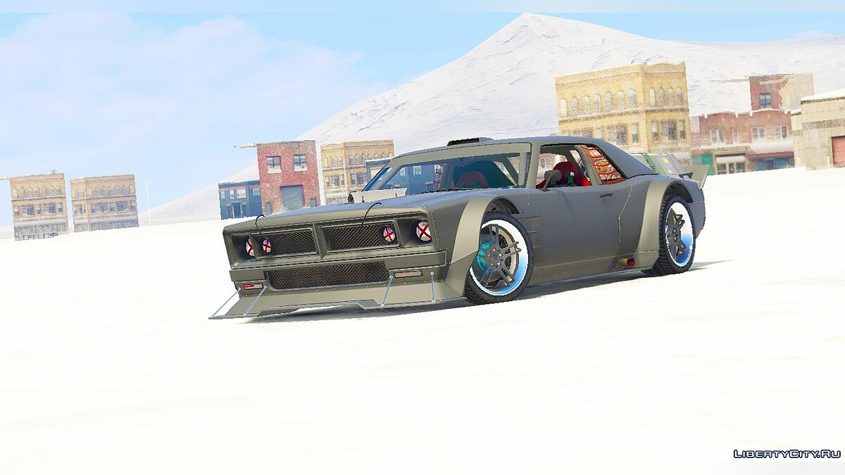 Dodge Charger - Dominic Toretto / Fast And Furious 8 [Menyoo] 1.0 для GTA 5