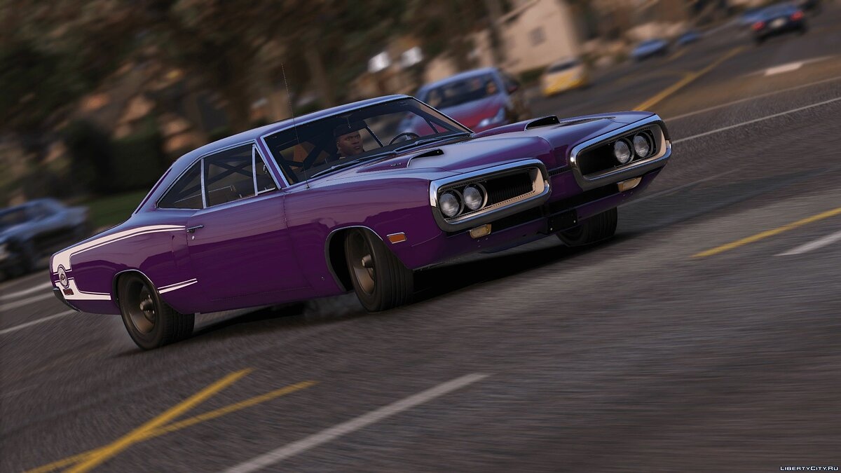 Машина Dodge 1970 Dodge Coronet Super Bee 1.1 [Add-On | OIV] для GTA 5