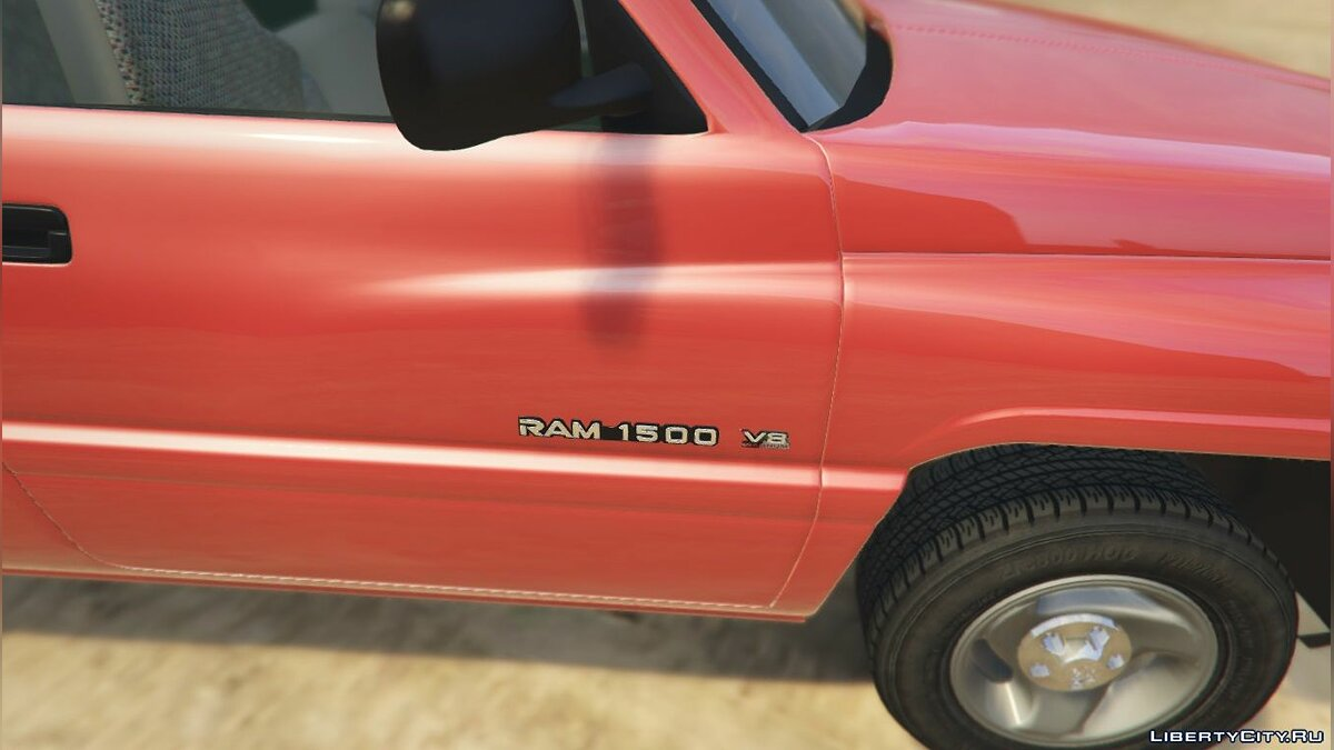 2001 Dodge Ram 1500 Club Cab [Replace] [BETA] для GTA 5 - скриншот #4
