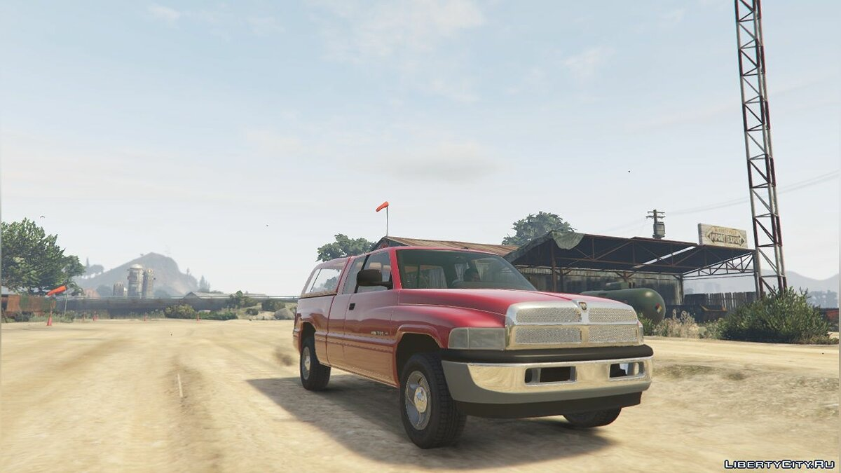 2001 Dodge Ram 1500 Club Cab [Replace] [BETA] для GTA 5 - скриншот #2