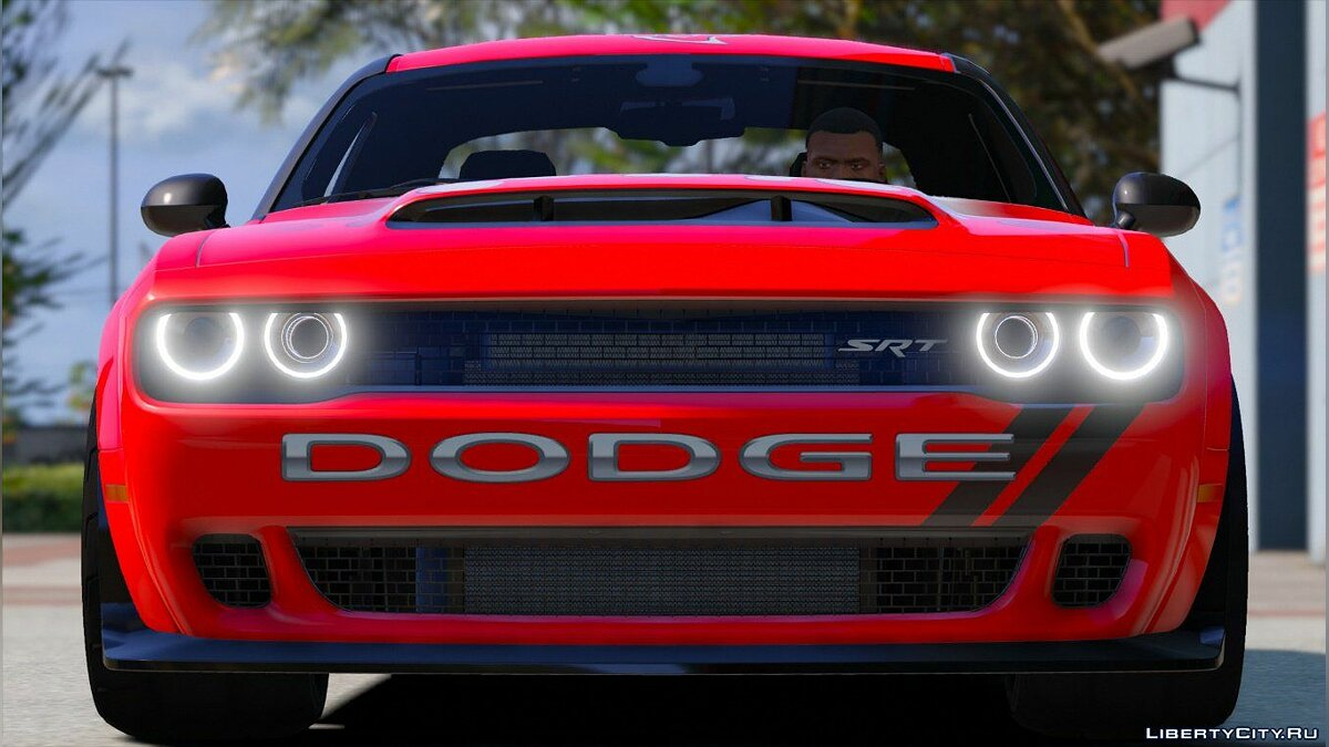 Dodge Challenger Demon SRT 2018 [Add-On | Replace | Analog-Digital Dials | Animated] 2.0 для GTA 5 - скриншот #3