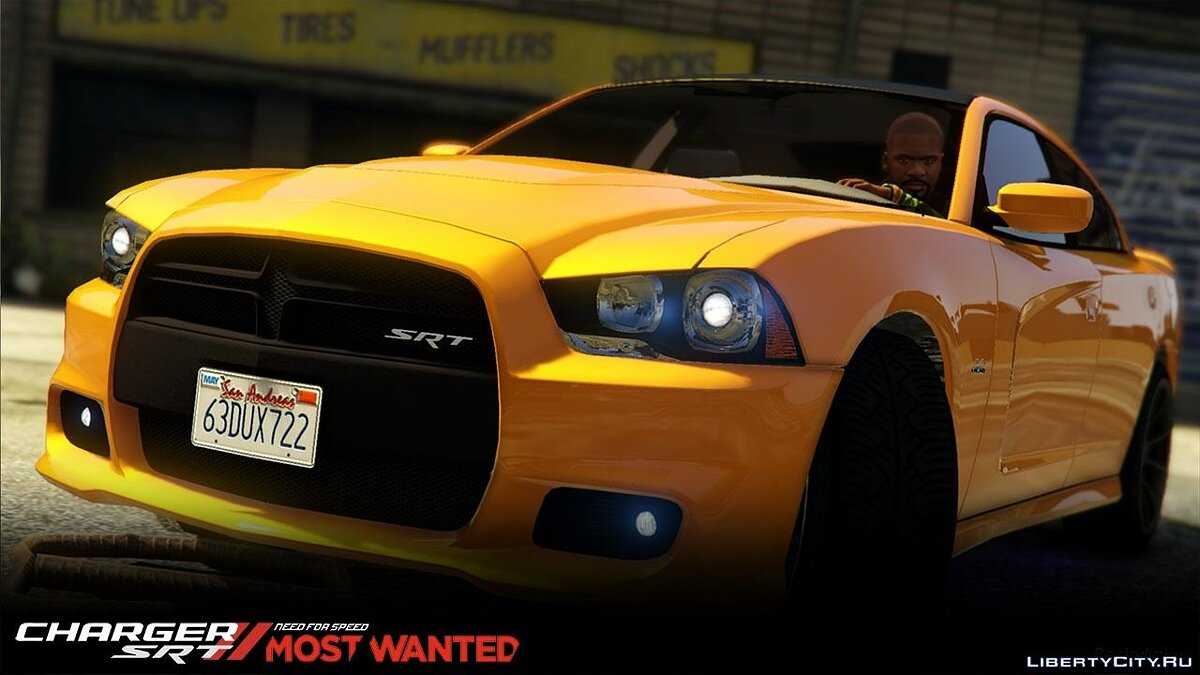 2012 Dodge Charger SRT8 1.0 для GTA 5