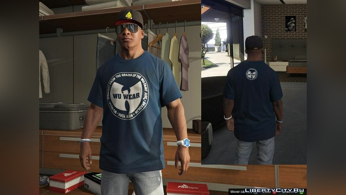 Franklin - Shirts Pack - RAP для GTA 5 - скриншот #2