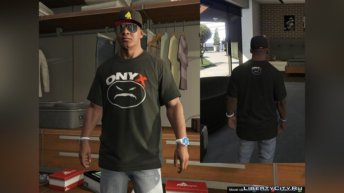 Franklin - Shirts Pack - RAP для GTA 5 - скриншот #4
