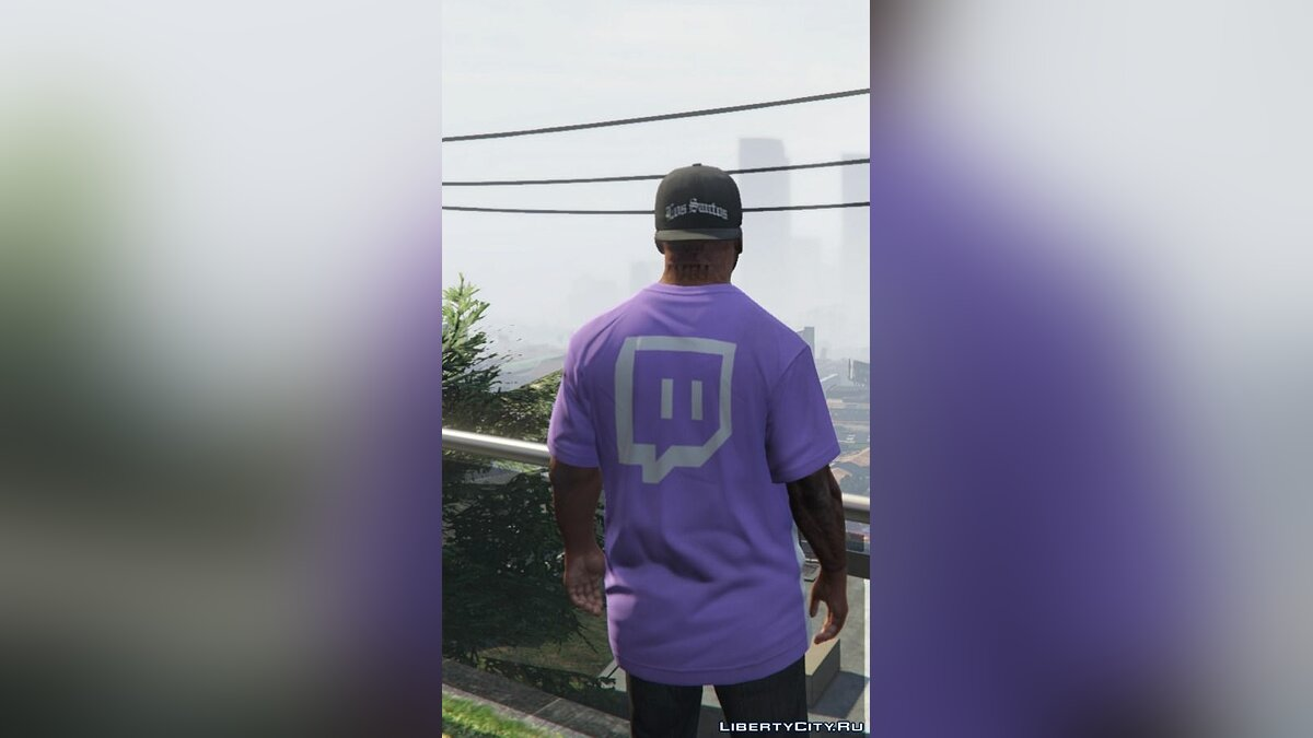 Twitch.tv T-Shirt Set 1.0 для GTA 5 - скриншот #3