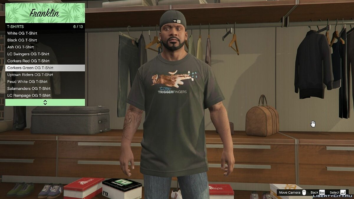 OVO Clothing Pack 1.0 для GTA 5 - скриншот #4