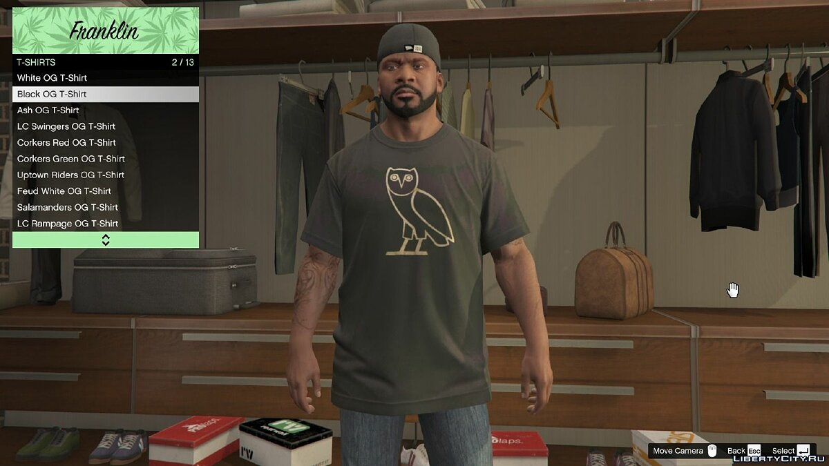 OVO Clothing Pack 1.0 для GTA 5 - скриншот #2