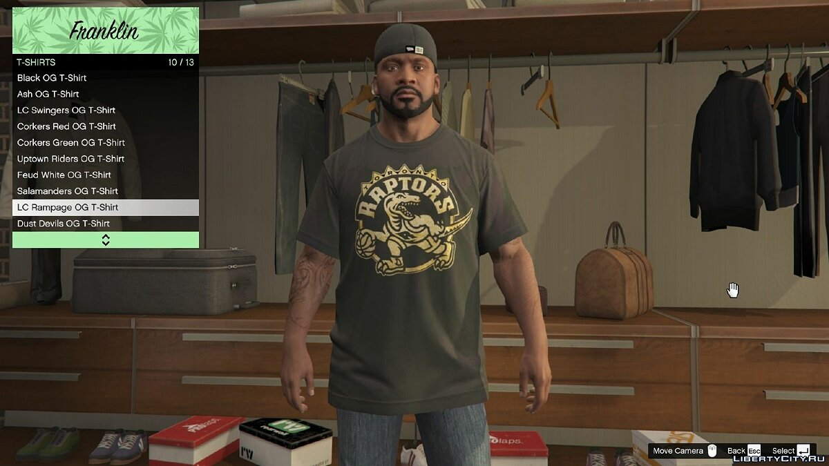 OVO Clothing Pack 1.0 для GTA 5 - скриншот #3