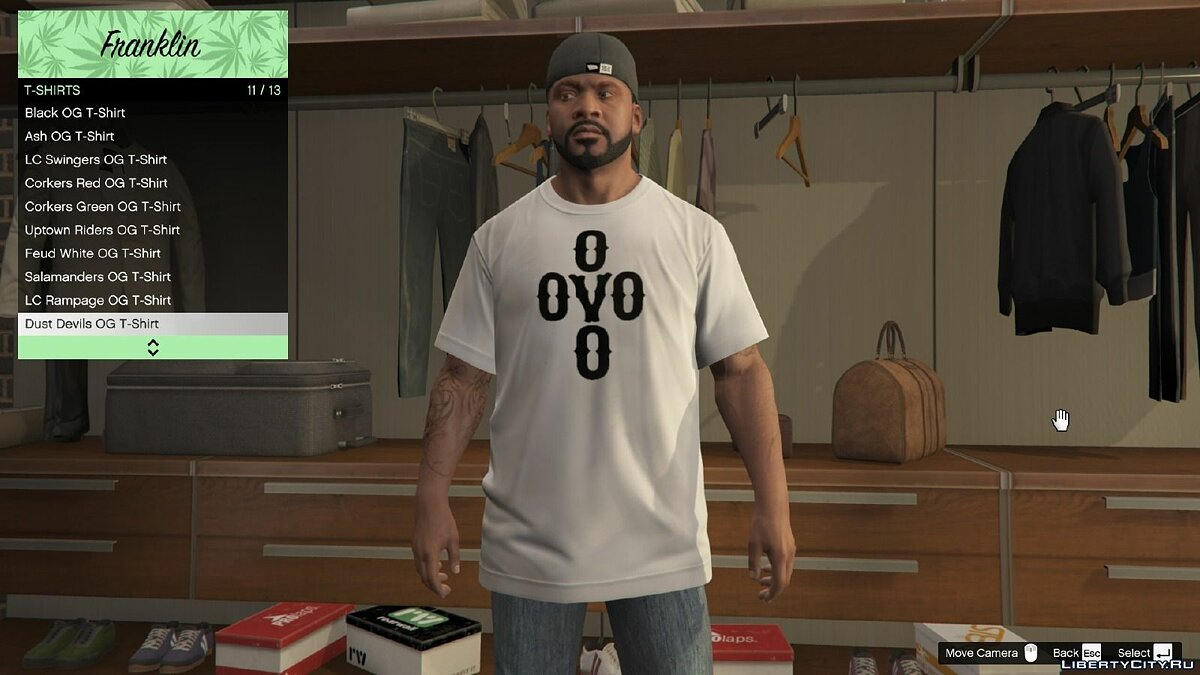 OVO Clothing Pack 1.0 для GTA 5 - скриншот #6