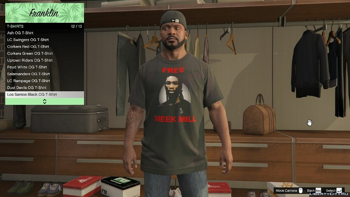 OVO Clothing Pack 1.0 для GTA 5 - скриншот #8