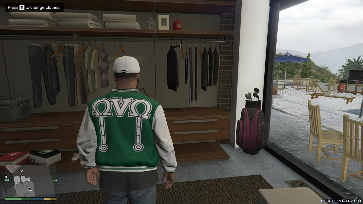 OVO Clothing Pack 1.0 для GTA 5 - скриншот #10