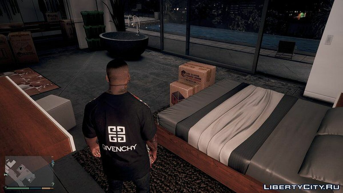 Givenchy T-Shirt Pack V1.0 для GTA 5 - скриншот #2