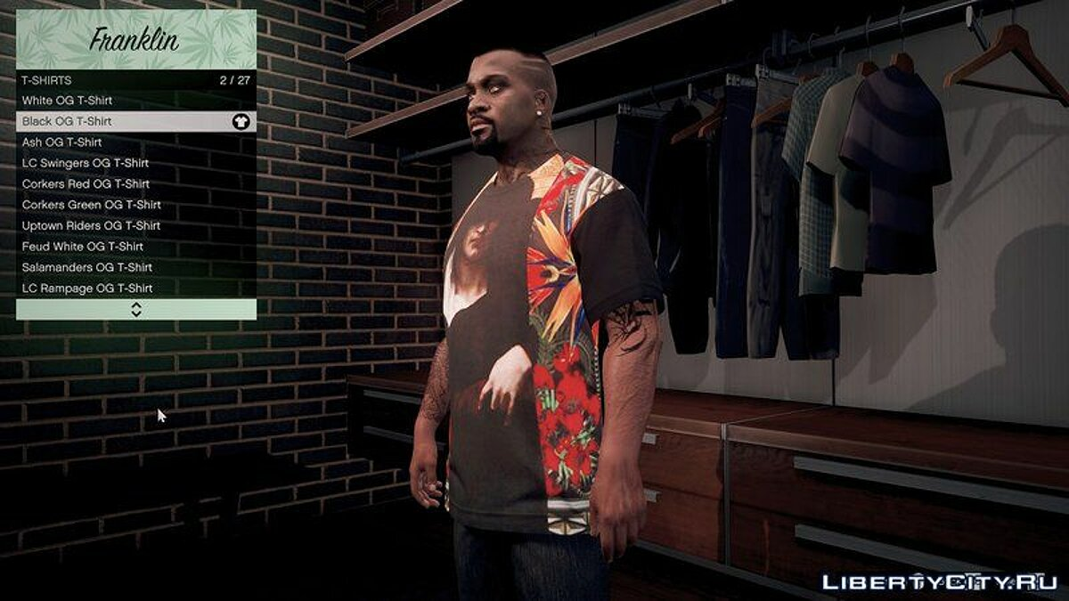 Givenchy T-Shirt Pack V1.0 для GTA 5 - скриншот #4