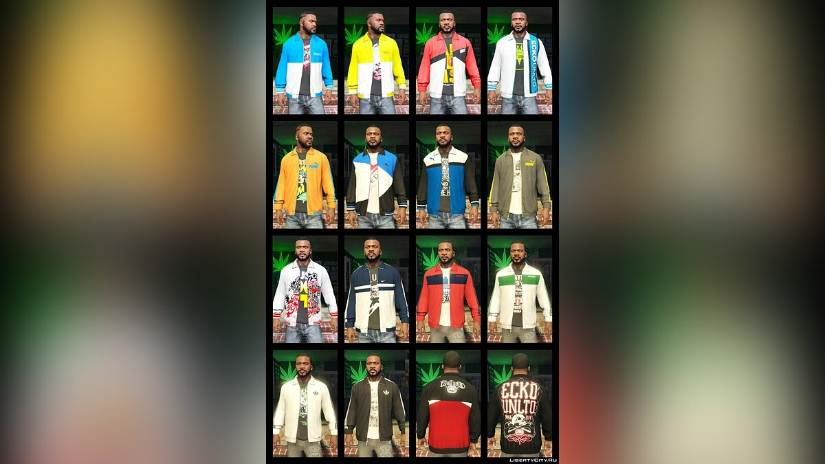 Franklin BIG Clothes Pack 3.6 для GTA 5 - скриншот #3