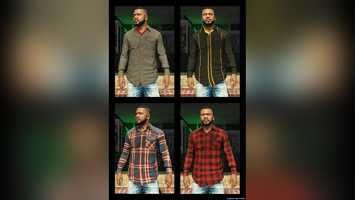 Franklin BIG Clothes Pack 3.6 для GTA 5 - скриншот #4