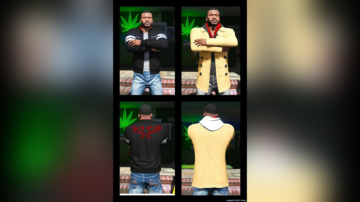 Franklin BIG Clothes Pack 3.6 для GTA 5 - скриншот #7
