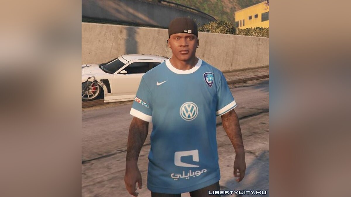 Al-Hilal Football Club T-Shirt для GTA 5