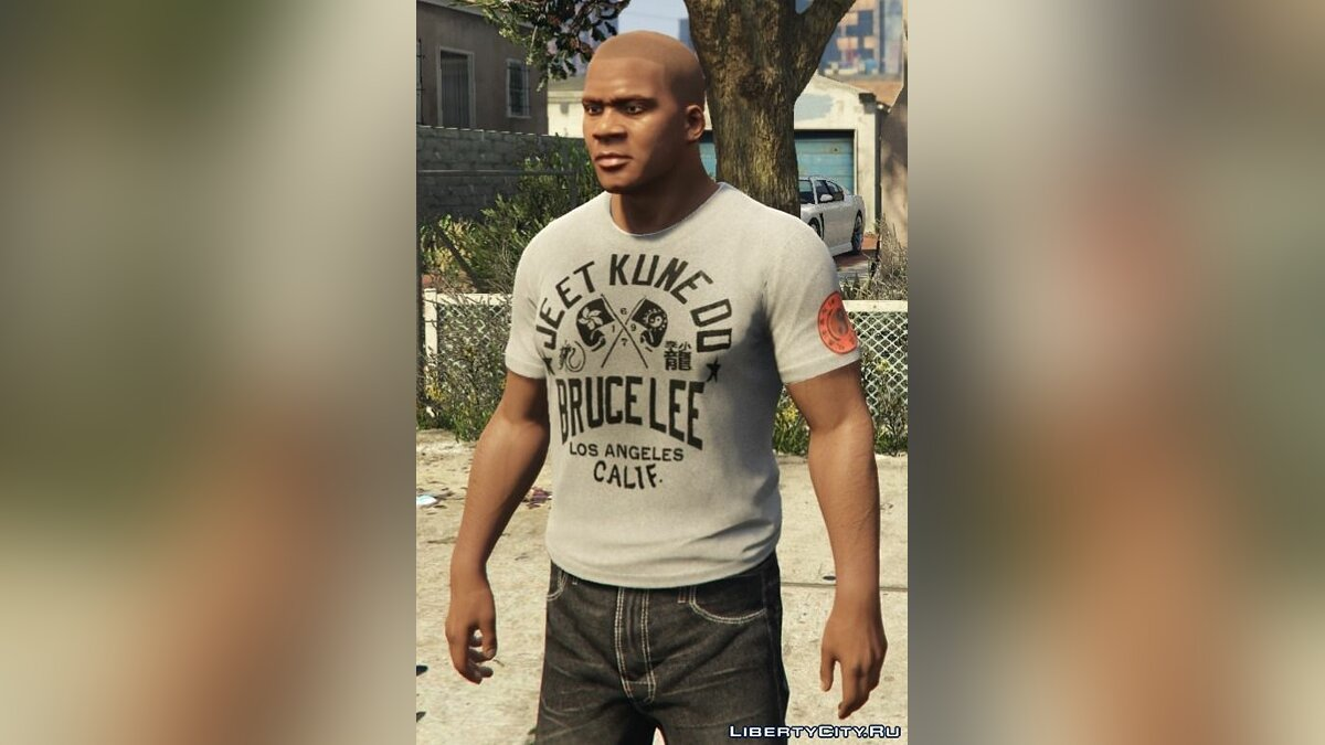 Franklin - Roots Of Fight T-Shirt Pack для GTA 5 - Картинка #6