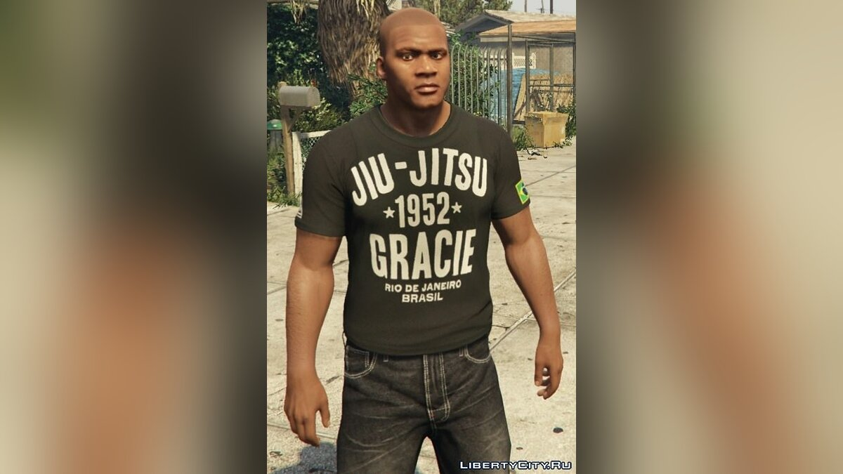 Franklin - Roots Of Fight T-Shirt Pack для GTA 5 - Картинка #4