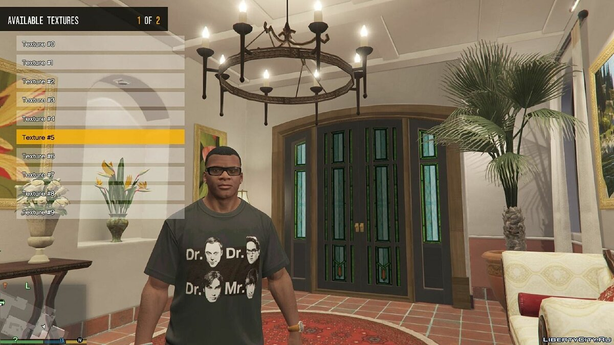 The Big Bang Theory T-Shirts v1 для GTA 5 - Картинка #6