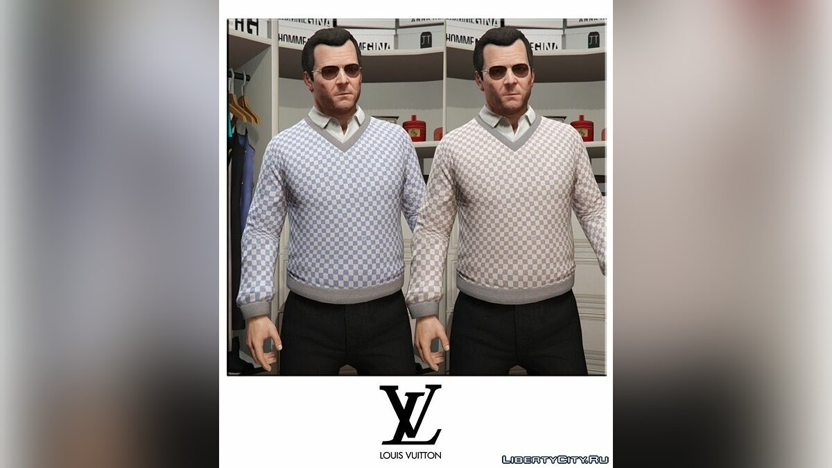 Luxury Clothes V1 для GTA 5 - скриншот #4
