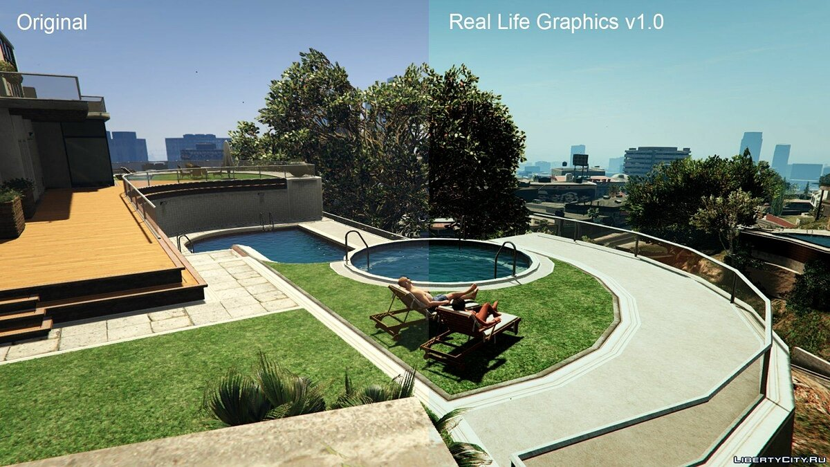 Real Life Graphics 1.0 для GTA 5 - скриншот #10