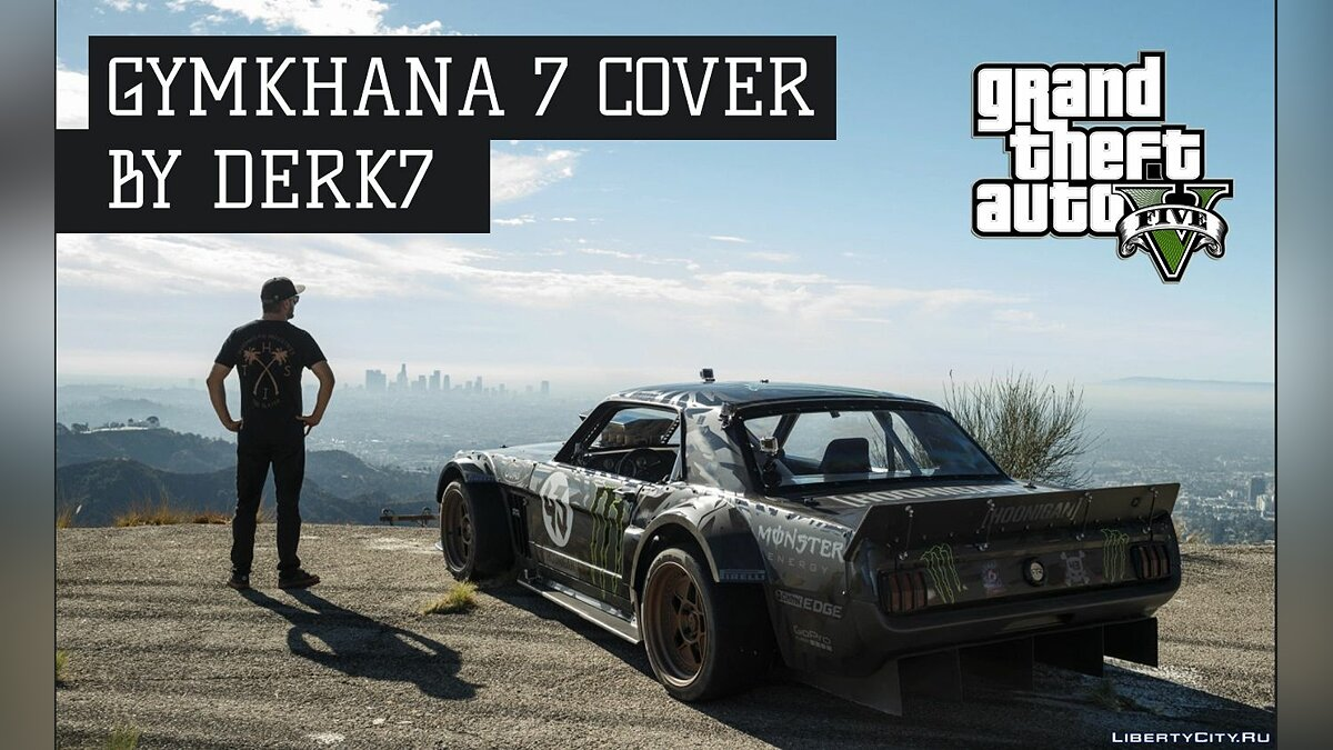 Фан видео GYMKHANA 7 GTA 5 COVER для GTA 5