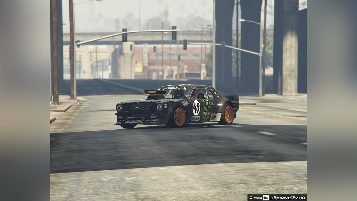 ��ан видео GYMKHANA 7 GTA 5 COVER для GTA 5