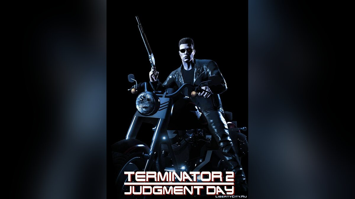 ��ан видео TERMINATOR 2 JD (GTAV cover) FULL FILM 2017 для GTA 5