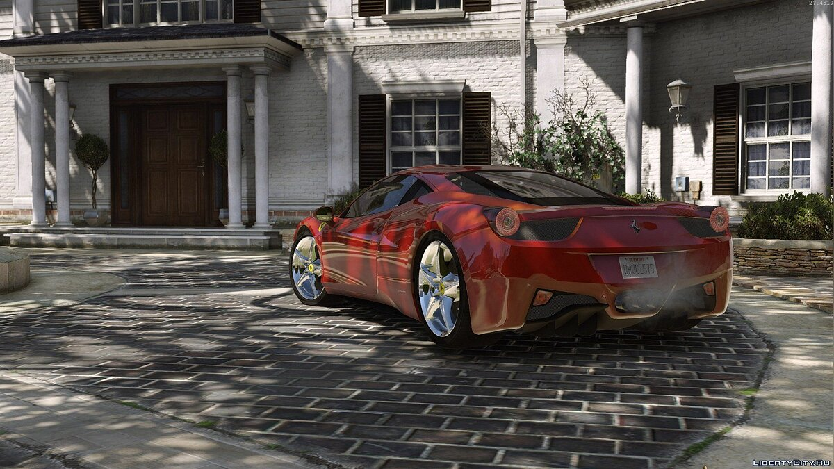 Ferrari 458 Italia AUTOVISTA [Add-On / Replace] 2.0 для GTA 5 - скриншот #9
