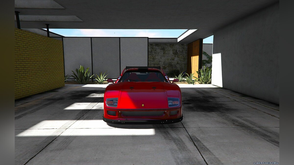 1987 Ferrari F40 [Add-On / Replace | Tuning] 1.0 для GTA 5