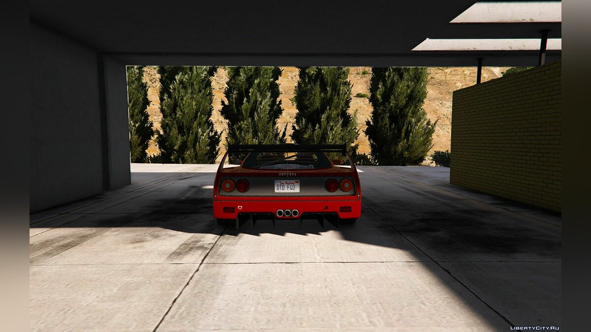 1987 Ferrari F40 [Add-On / Replace | Tuning] 1.0 для GTA 5 - скриншот #4
