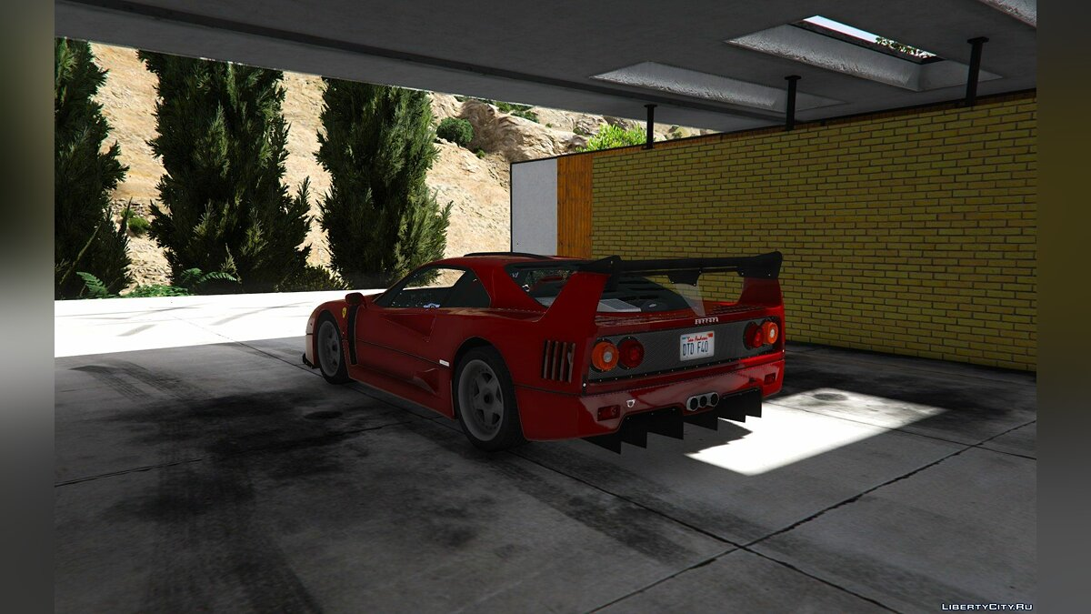 1987 Ferrari F40 [Add-On / Replace | Tuning] 1.0 для GTA 5 - скриншот #6