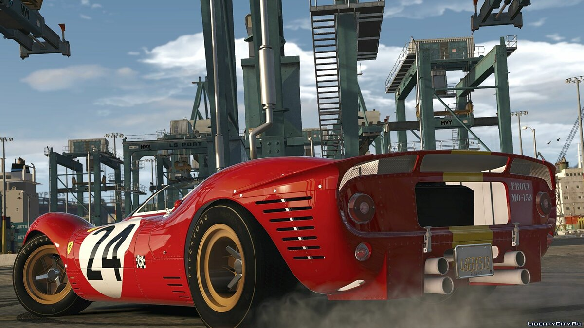 Машина Ferrari 1967 Ferrari 330 P4 [Add-On | LODs | Template | RHD] 1.0 для GTA 5