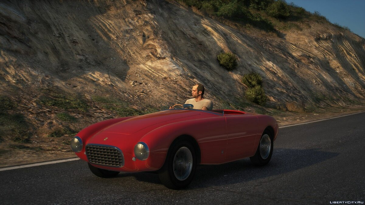 Машина Ferrari Ferrari 212 Export Vignale Spyder 1951 [Add-On | LODs | Dirtmap] 1.0 для GTA 5