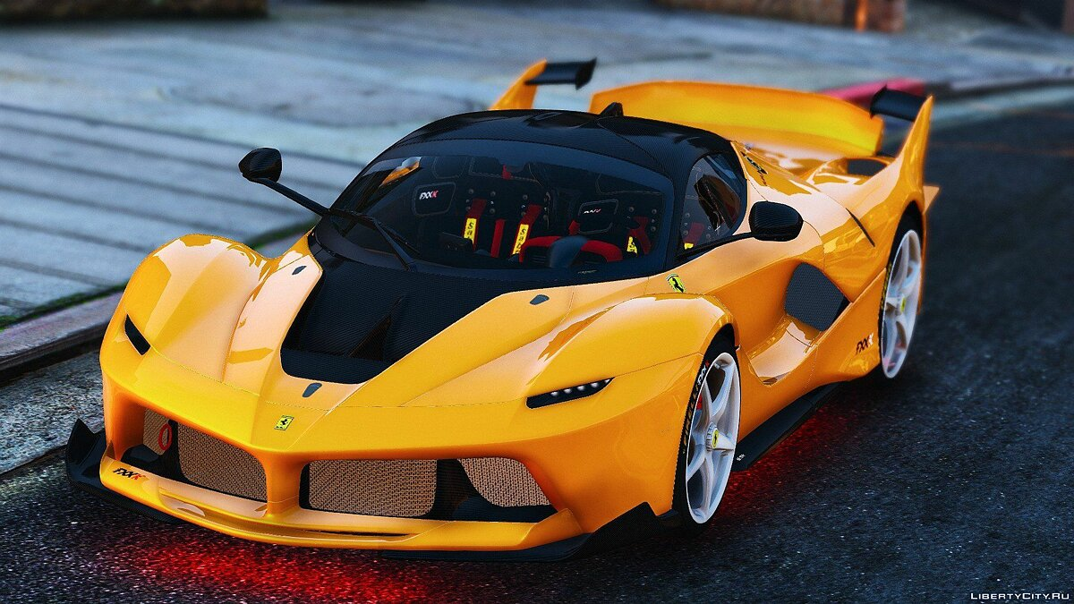 Ferrari FXX-K Hybrid Hypercar [Add-On] для GTA 5