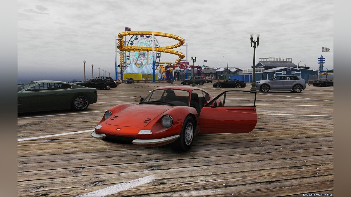1969 Ferrari Dino 246 GT [Add-On / Replace] 1.0 для GTA 5