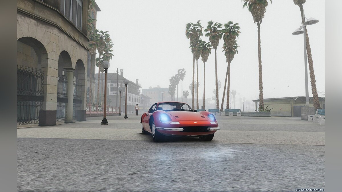 1969 Ferrari Dino 246 GT [Add-On / Replace] 1.0 для GTA 5 - скриншот #8