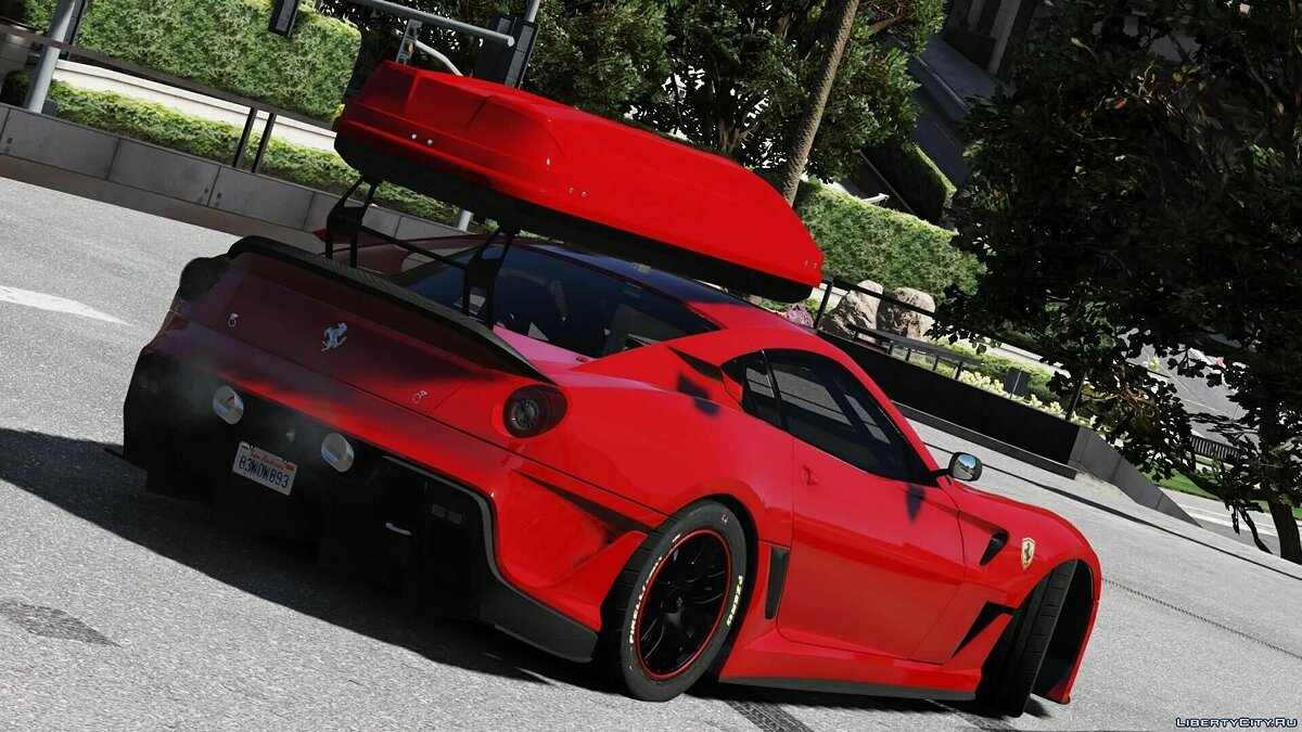 Машина Ferrari Ferrari GTO 599XX [Add-On] 1.0 для GTA 5