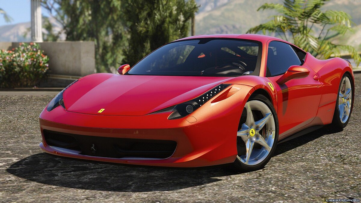 Ferrari 458 Italia AUTOVISTA [Add-On / Replace | Tuning | Template] 3.0 для GTA 5