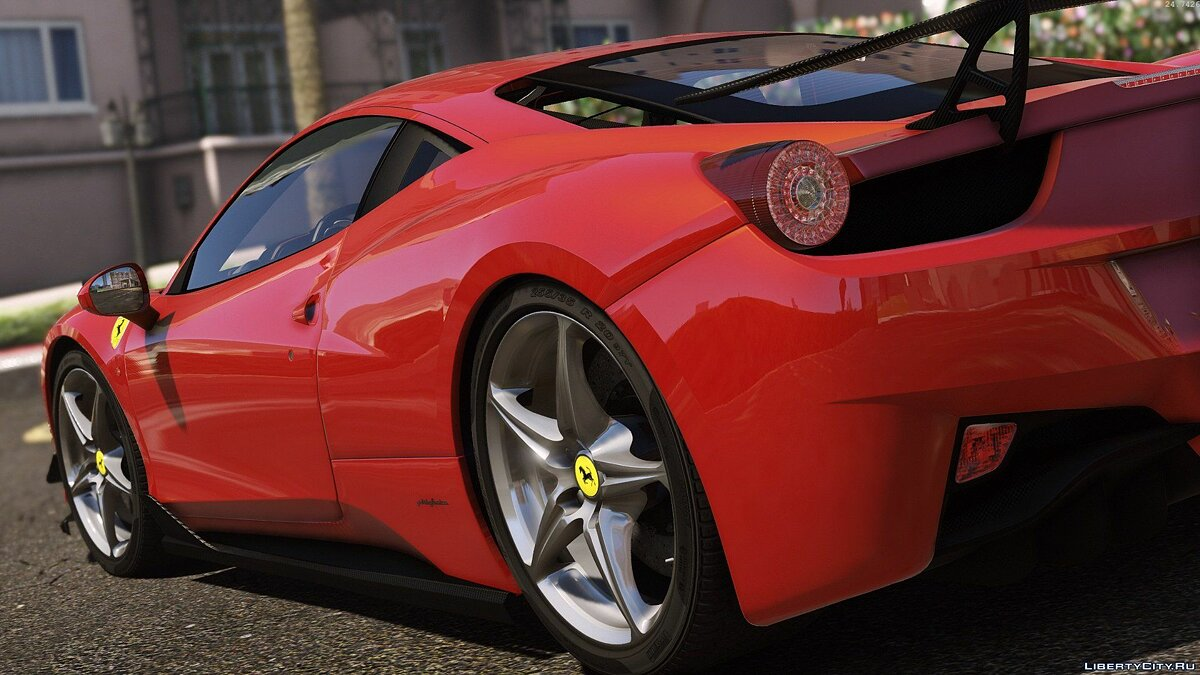 Ferrari 458 Italia AUTOVISTA [Add-On / Replace | Tuning | Template] 3.0 для GTA 5 - скриншот #3
