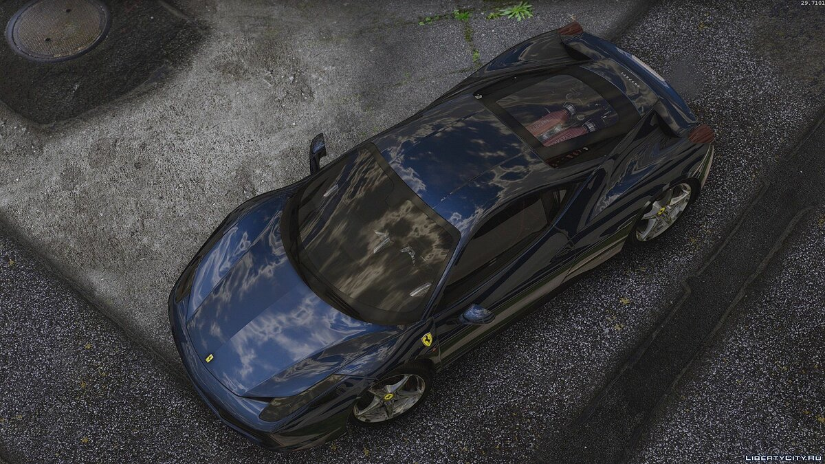 Ferrari 458 Italia AUTOVISTA [Add-On / Replace | Tuning | Template] 3.0 для GTA 5 - скриншот #5