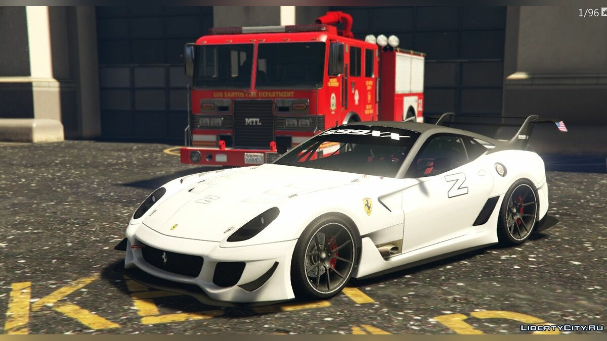 Ferrari 599FXX Evolution [Add-On | Livery] 1.3 для GTA 5 - скриншот #2