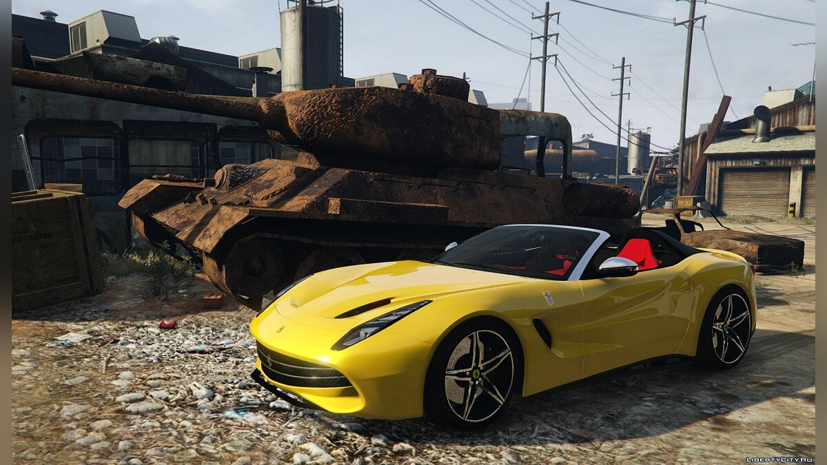Ferrari F60 America [Add-On | HQ | Template] 1.1 для GTA 5 - скриншот #5