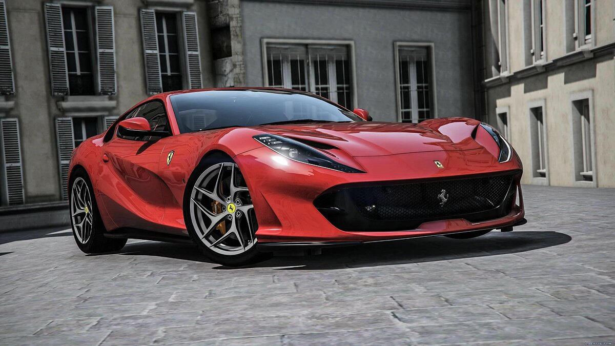 Машина Ferrari Ferrari 812 Superfast 2018 [Add-On] 1.0 для GTA 5
