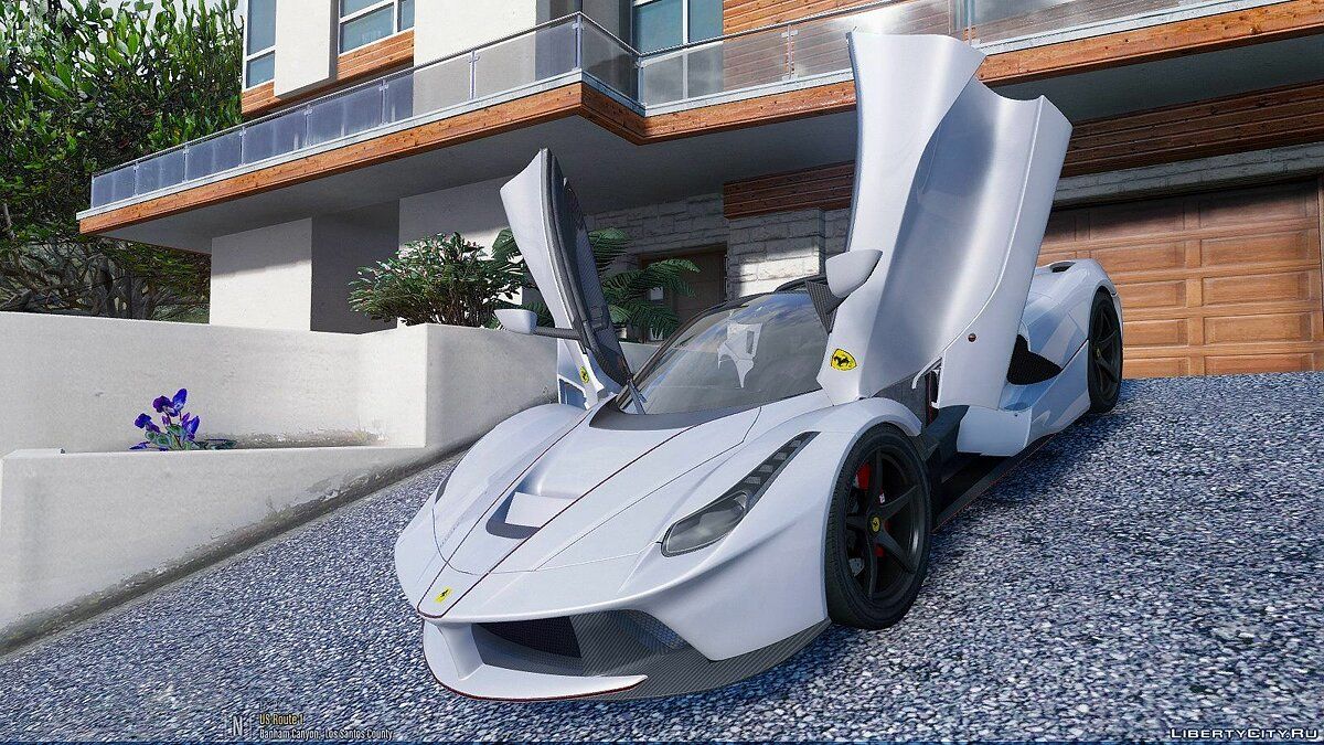 2017 Ferrari LaFerrari Aperta [Add-On] 1.1 для GTA 5