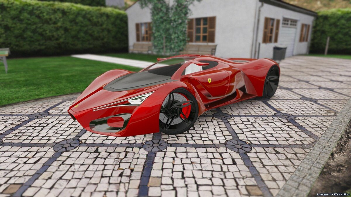 Ferrari F80 2016 [Add-On | Tuning | Aero Flaps | Digital Dials] 2.1 для GTA 5