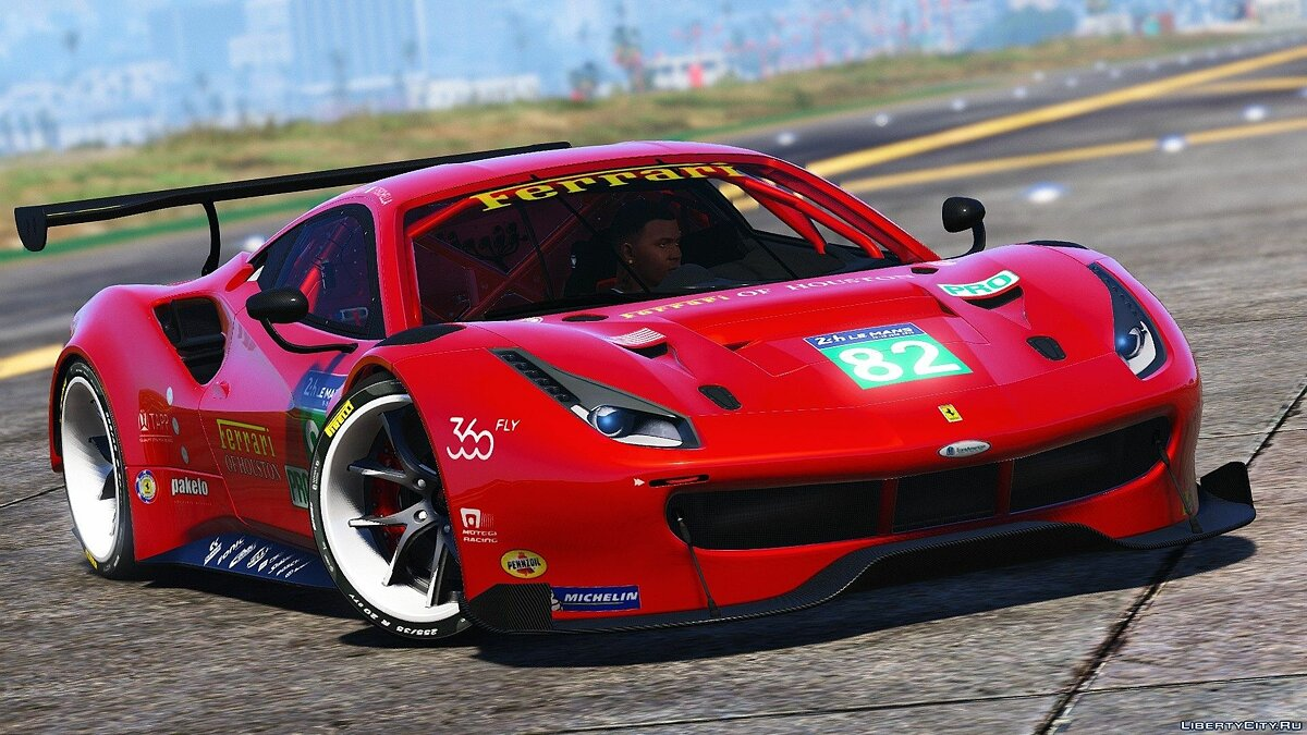 Ferrari 488 GT3 [Add-On] для GTA 5 - скриншот #3